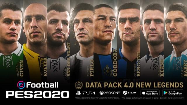 pes 2020 data pack 4 legends