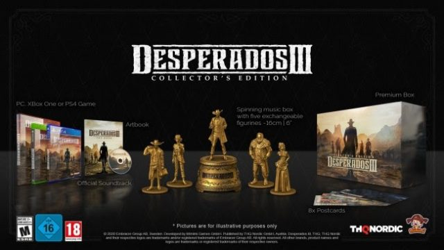 Desperados Iii Collector S Edition And Season Pass Detailed Full Release Date Confirmed Thexboxhub