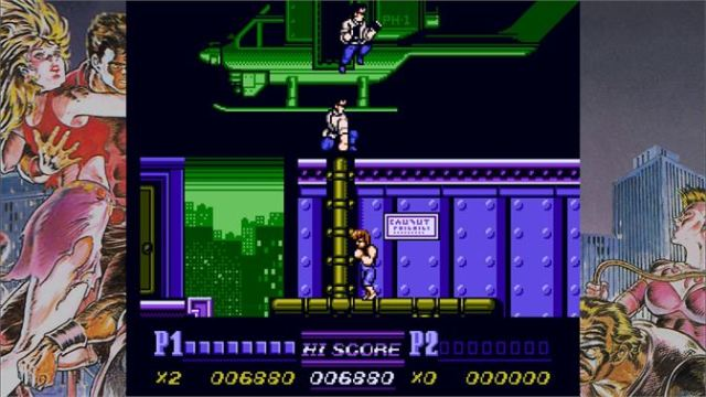 Double Dragon II: The Revenge Review 1
