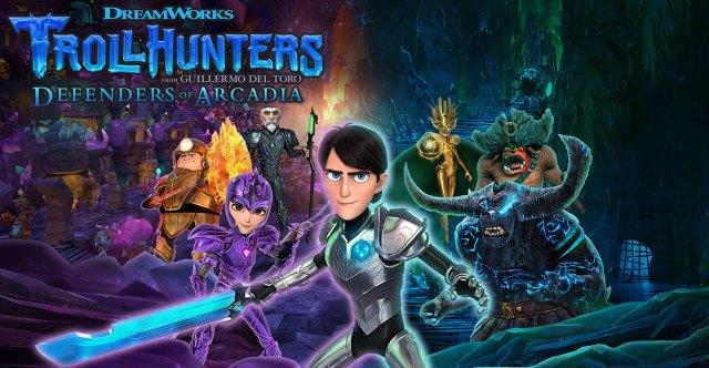 Dreamworks Trollhunters Defenders of Arcadia 1