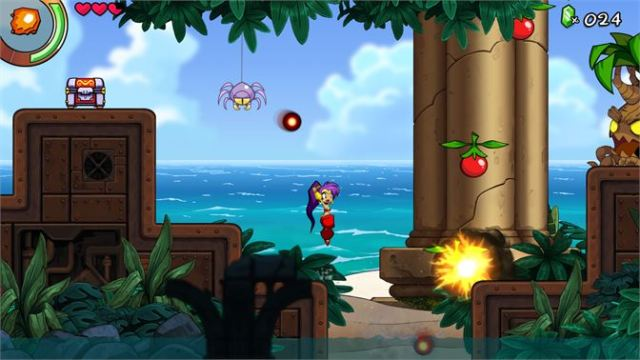 Shantae and the Seven Sirens Review 1