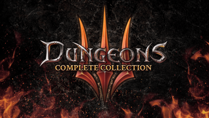 dungeons 3 complete collection logo