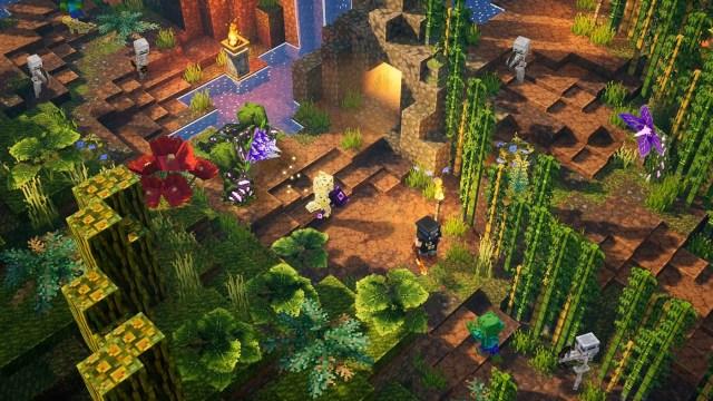 minecraft dungeons jungle awakens xbox one