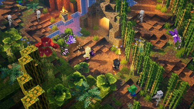minecraft dungeons jungle awakens xbox one