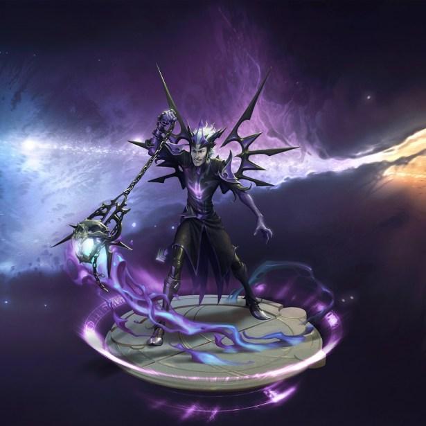 magic legends necromancer