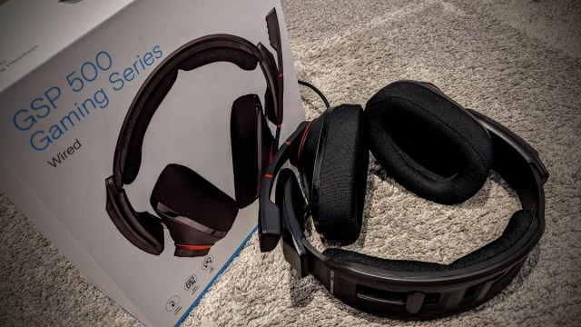 EPOS SENNHEISER GSP 500 Headset review 1