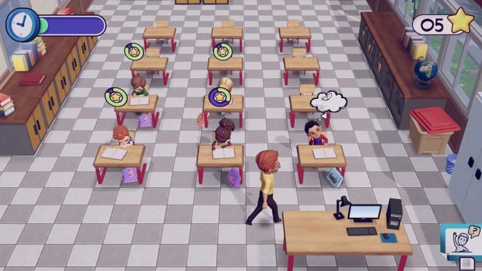 my universe school teacher classroom