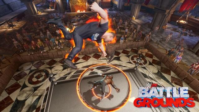 wwe 2k battlegrounds gronkster