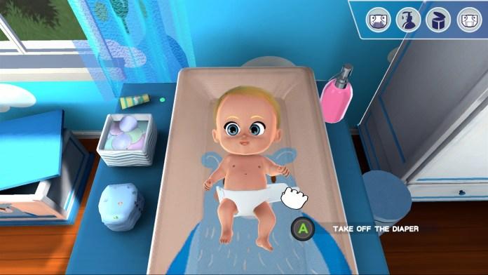 my universe my baby nappy change
