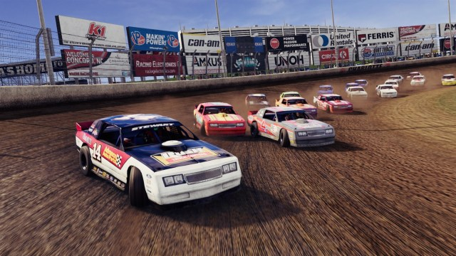tony stewarts all american racing charlotte dirt track