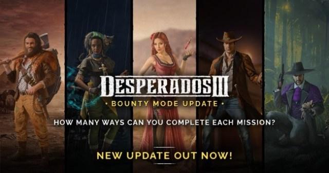 Desperados III Bounty mode