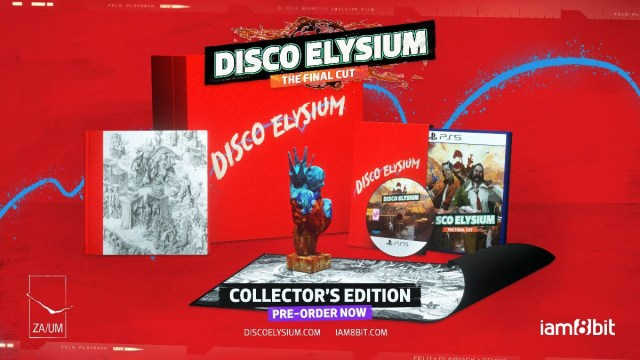 disco elysium the final cut collectors edition