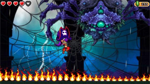 Shantae and the Pirate's Curse 2016