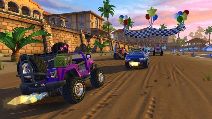 beach buggy racing 2 xbox
