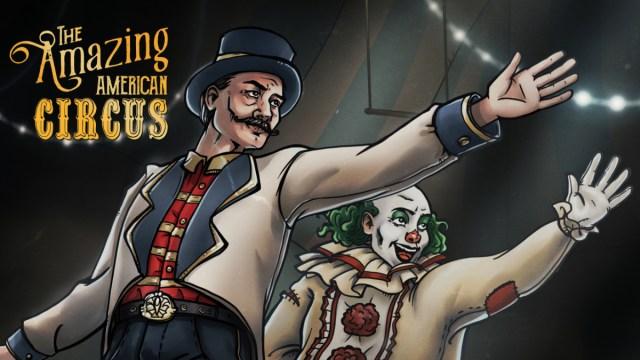 the amazing american circus logo
