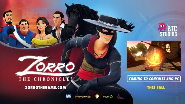 zorro the chronicles the game