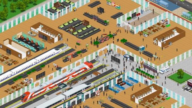 train station simulator xbox