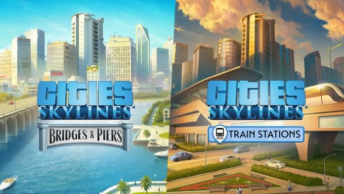 cities skylines bridges piers trains
