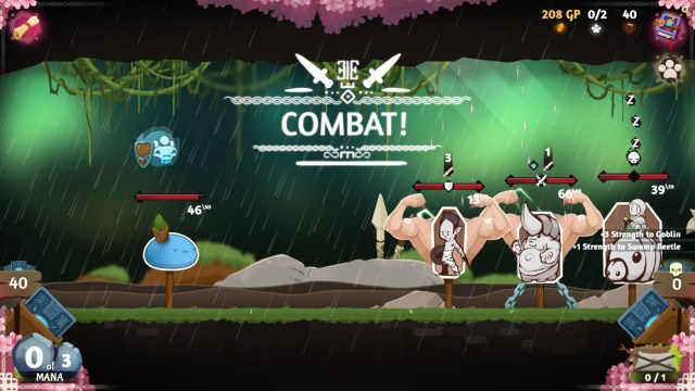 rise of the slime Forest - Muscle Up Combat