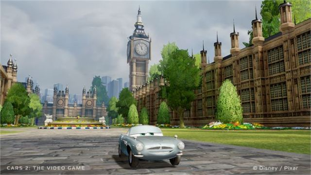 Cars 2: The Video Game Xbox