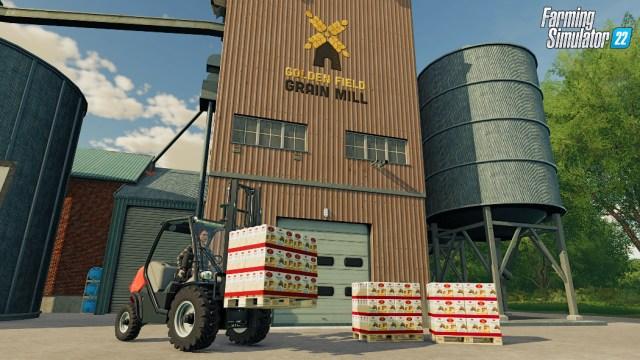 farming sim 22 grain mill