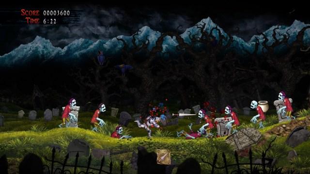 ghost n goblins resurrection