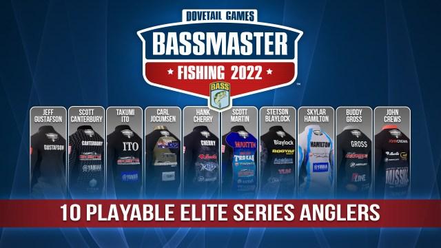 Bassmaster Fishing 2022 - Angler Jersies 02