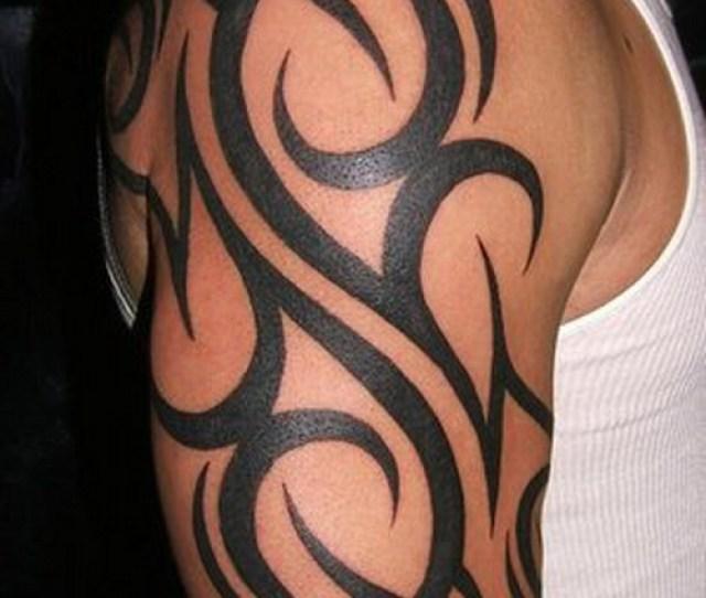 Best Tribal Arm Tattoo Designs For Men
