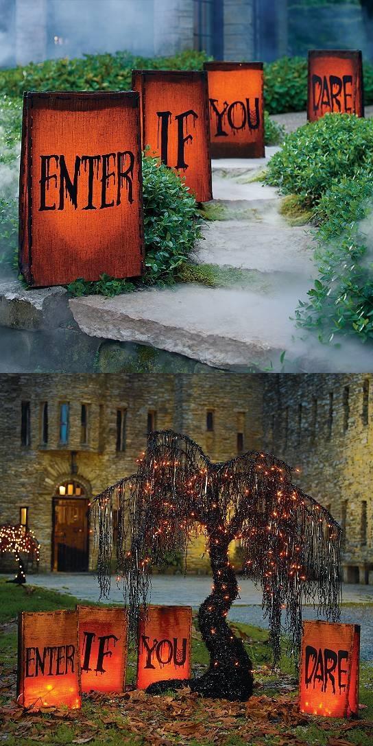 20 Best Halloween DIY Outdoor Decoration Ideas The Xerxes