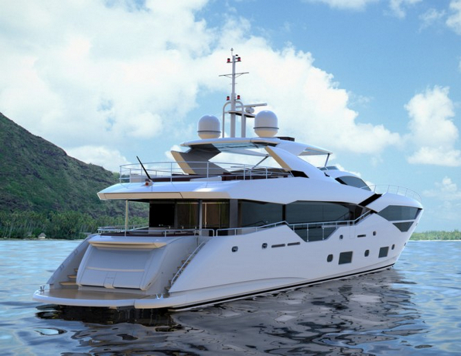 Second Sunseeker 116 Yacht Fleur Launched TheYachtMarket
