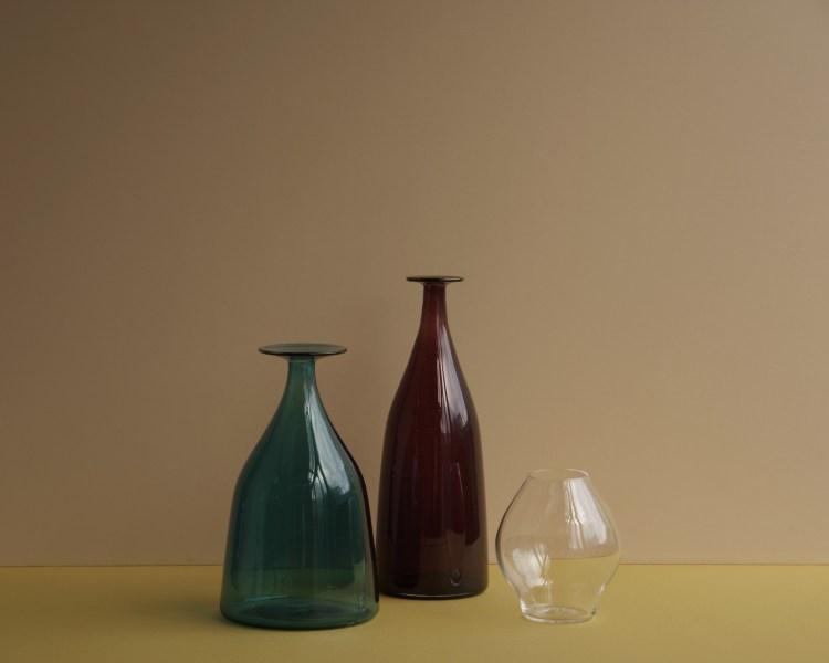 FLASKAのガラス - コーンベース, グラス