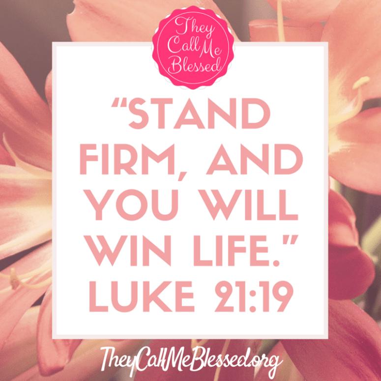 Luke 21:19