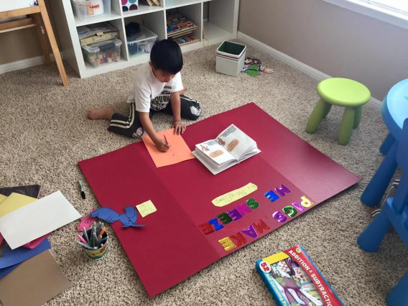part-time working and homeschooling 3