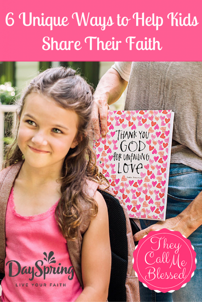 Help Kids Share Their Faith