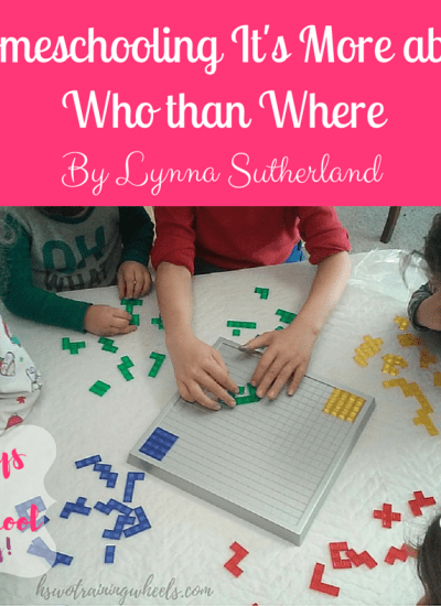 Homeschooling It's More about Who than Where