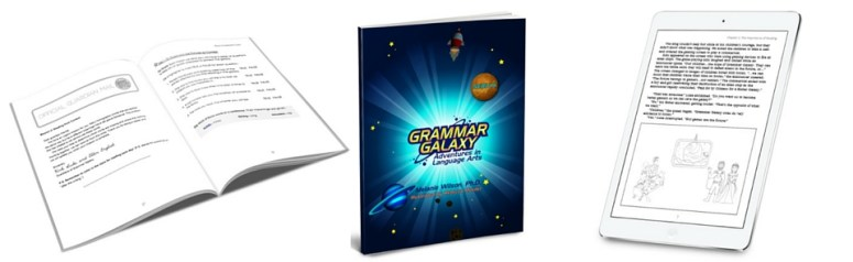 FREE Grammar Galaxy Nebula Lesson | Language Arts curriculum | Homeschool Language Arts | Charlotte Mason Language Arts | Free homeschool lesson