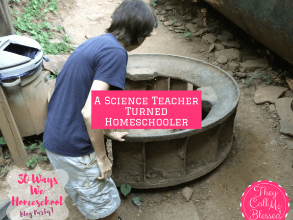 A Science Teacher Turned Homeschooler