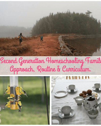 A Second Generation Homeschooling Family
