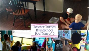 Teacher Turned homeschool BoyMom of 3