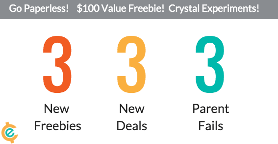 3 New Freebies – 3 New Deals – 3 Lessons