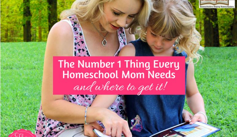 The #1 Thing Every Homeschool Mom Needs