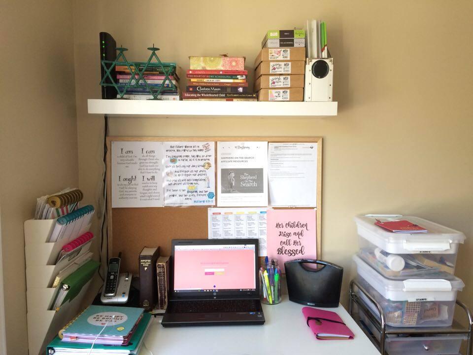 homeschool space