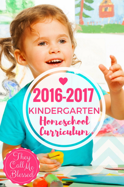 #6 of Top 10 Homeschool Posts in 2016: Kindergarten Homeschool Curriculum