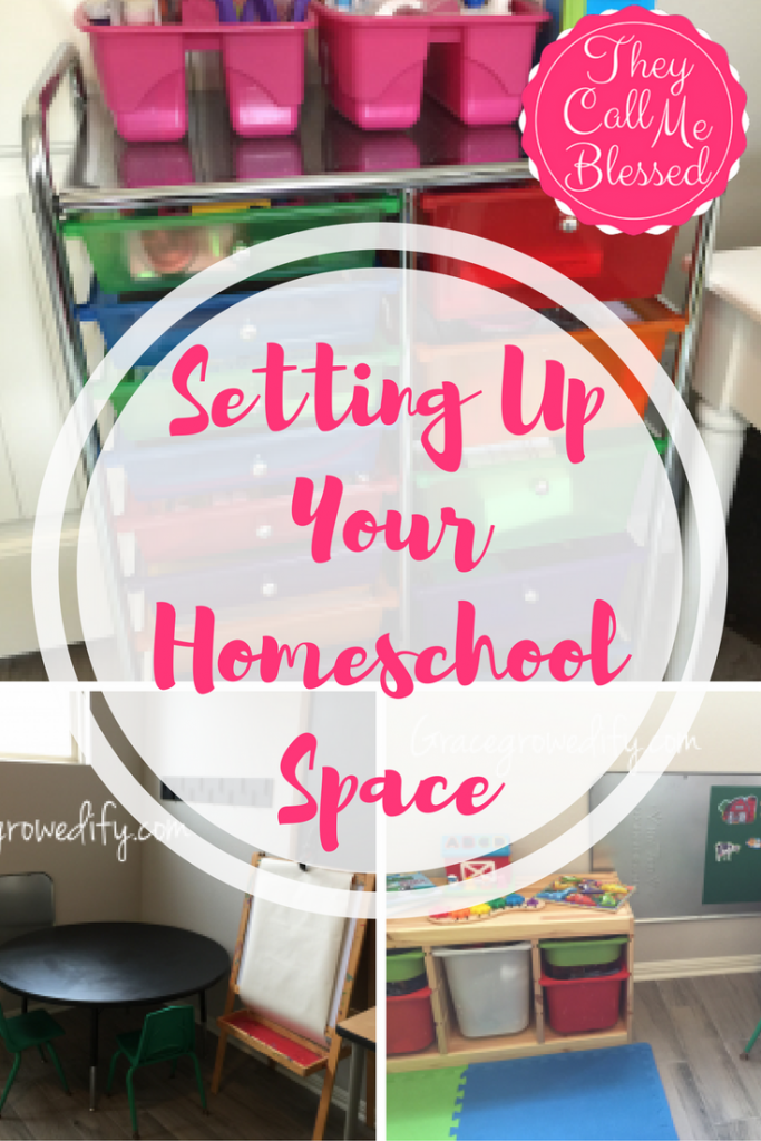 Setting Up Your Homeschool Space