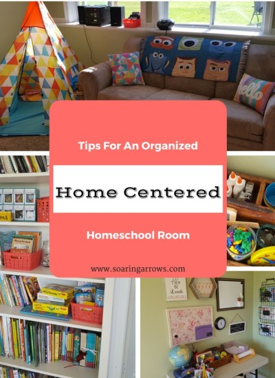 Tips For An Organized Home Centered Homeschool Room