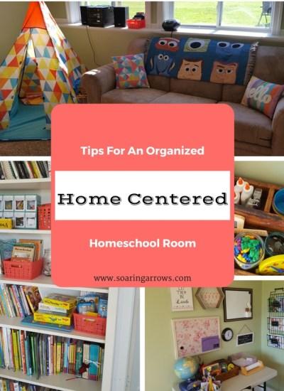Home Centered Homeschool Room