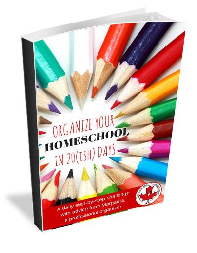 Organize Your Homeschool in 20(ish) Days Challenge