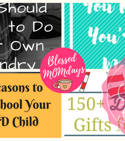 Blessed MOMdays Link Up Party #8