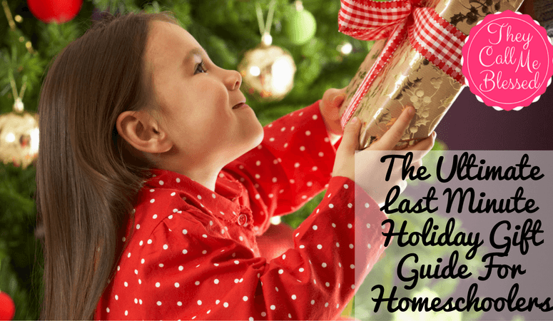 "The Ultimate ""Last Minute"" Holiday Gift Guide For Homeschoolers"