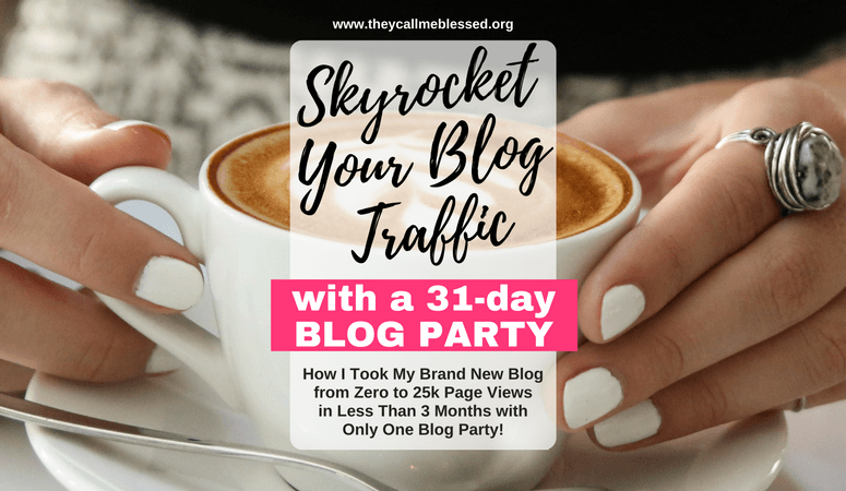 How To Skyrocket Your Blog Traffic With A Blog Party {+Video Testimonial}